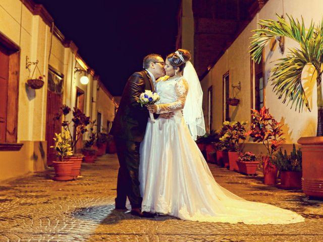 El matrimonio de Angela y Miguel
