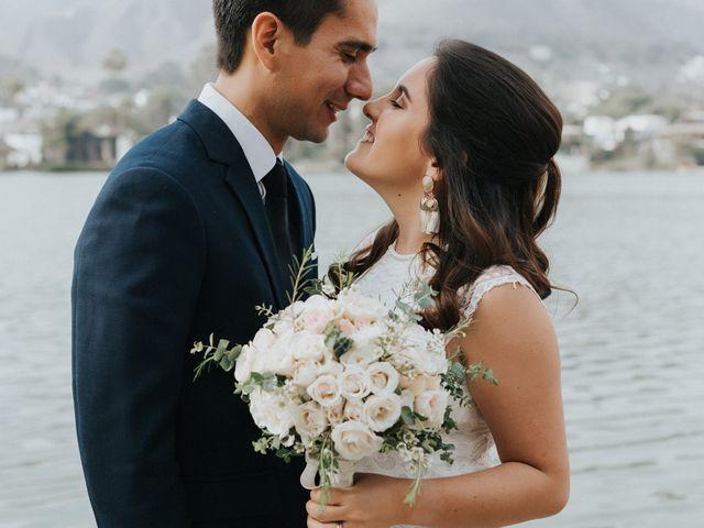 El matrimonio de Annette y Juan Diego