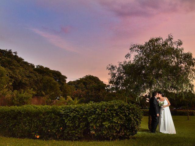 El matrimonio de Lizeth y David