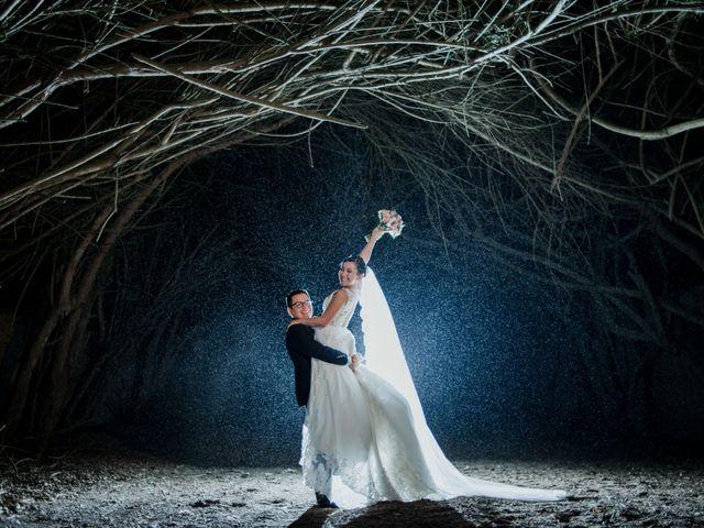 El matrimonio de Cinthya y Ricardo