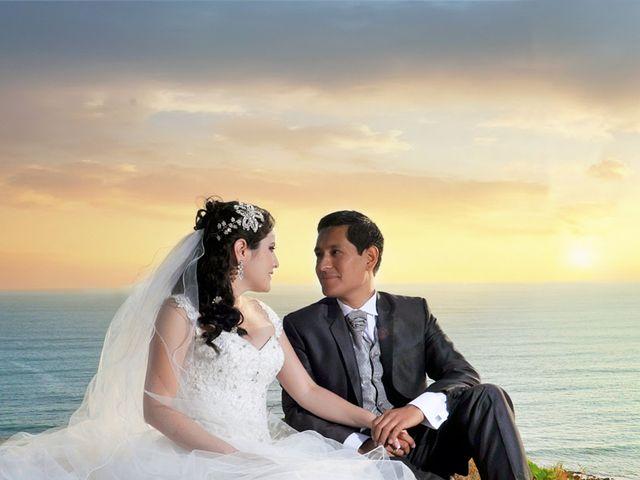 El matrimonio de Miluska y Markos