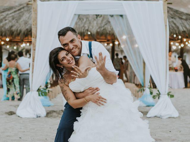El matrimonio de Fabiana y Martin