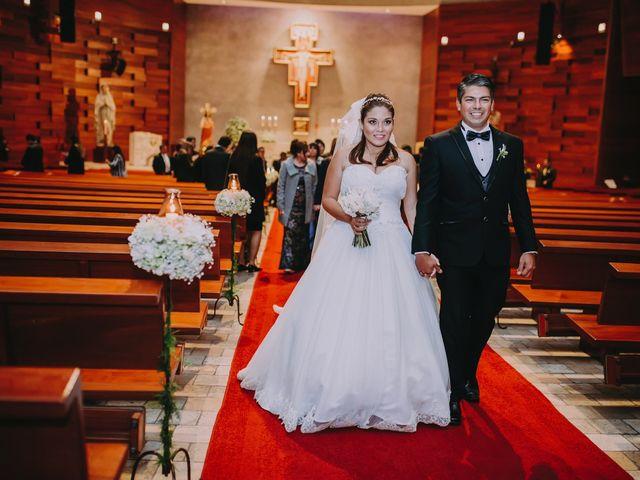 El matrimonio de Fiorella y Francia