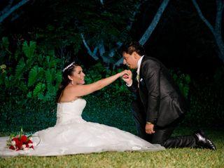 El matrimonio de Giulissa y Christian