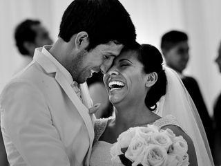 El matrimonio de Sheyla y David