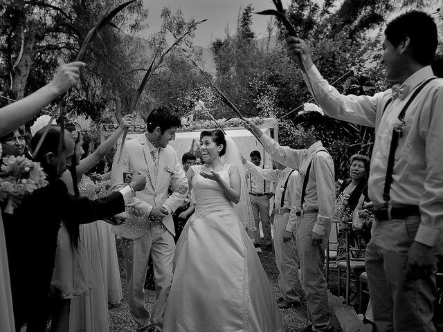El matrimonio de David y Sheyla en Chaclacayo, Lima 43