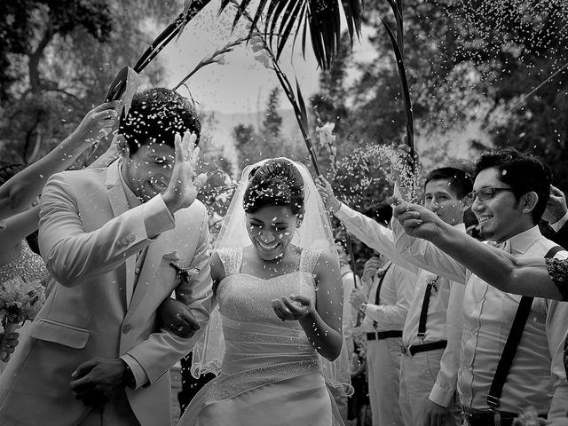 El matrimonio de David y Sheyla en Chaclacayo, Lima 1