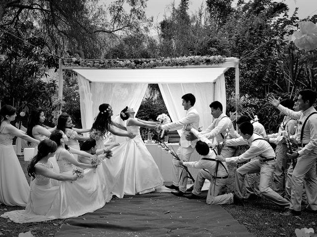 El matrimonio de David y Sheyla en Chaclacayo, Lima 44