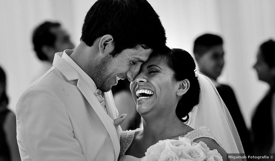 El matrimonio de David y Sheyla en Chaclacayo, Lima