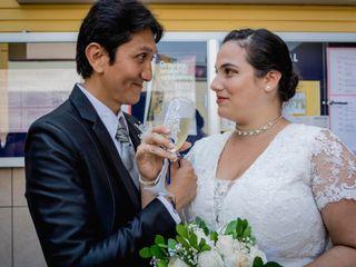 El matrimonio de Carlos y Estefanía