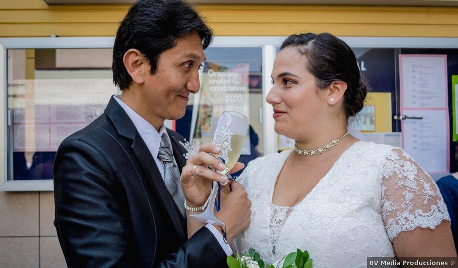 El matrimonio de Estefanía y Carlos en Pueblo Libre, Lima