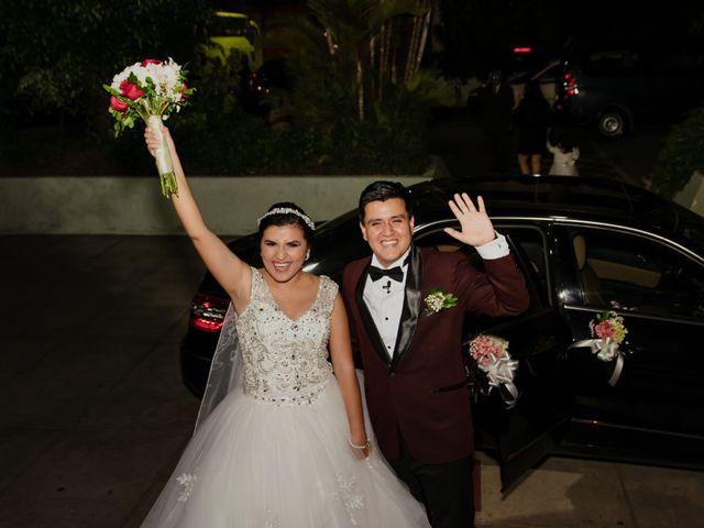 El matrimonio de Melody y Luis