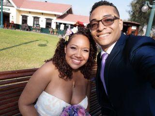 El matrimonio de Andreina  y John