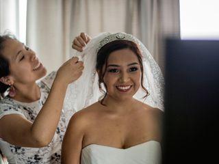 El matrimonio de Fabiana y George 1