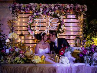 El matrimonio de Fabiana y George