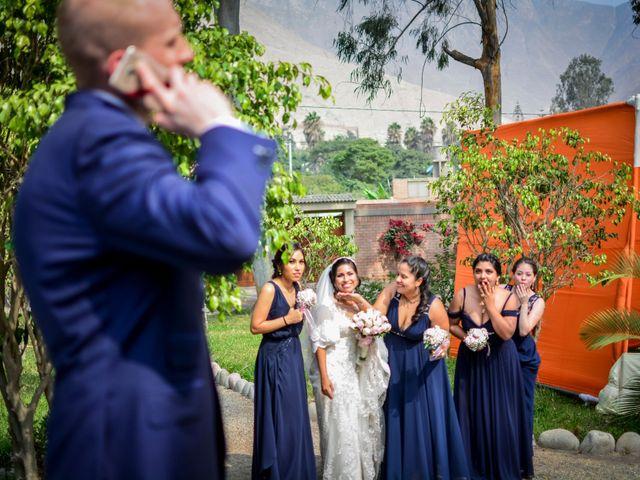 El matrimonio de Jhanett y Tim en Cieneguilla, Lima 94