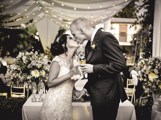 El matrimonio de Tim y Jhanett