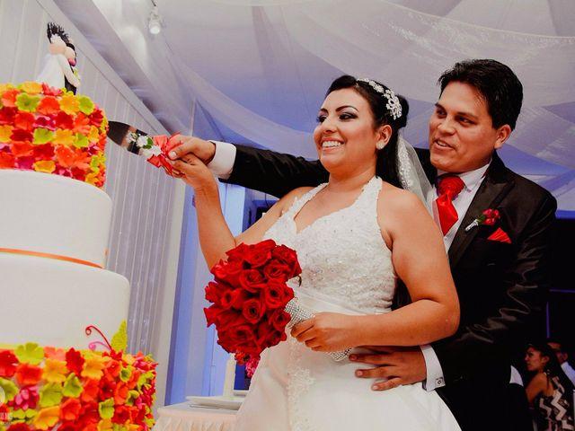 El matrimonio de Italo y Carmen