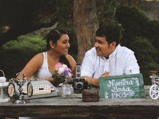 El matrimonio de Leyla y Fernando