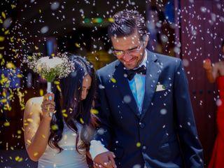 El matrimonio de Yessenia y Joao