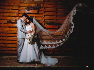 El matrimonio de Pamela y Víctor