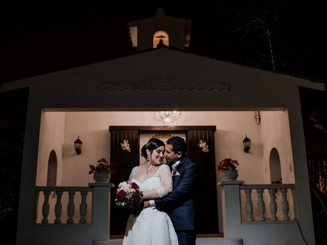 El matrimonio de Vanessa y Alan