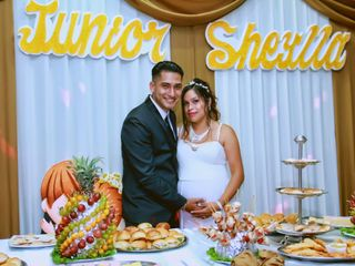 El matrimonio de Sheyla y Junior