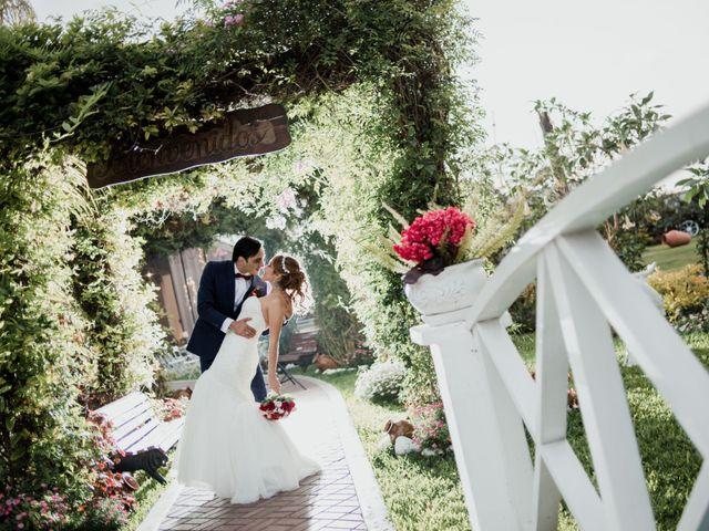 El matrimonio de Lisset y Victor