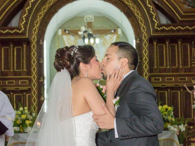 El matrimonio de Milagros y David