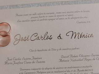 El matrimonio de Jóse Carlos y Mónica 2
