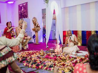 El matrimonio de Gloria y Divesh 1