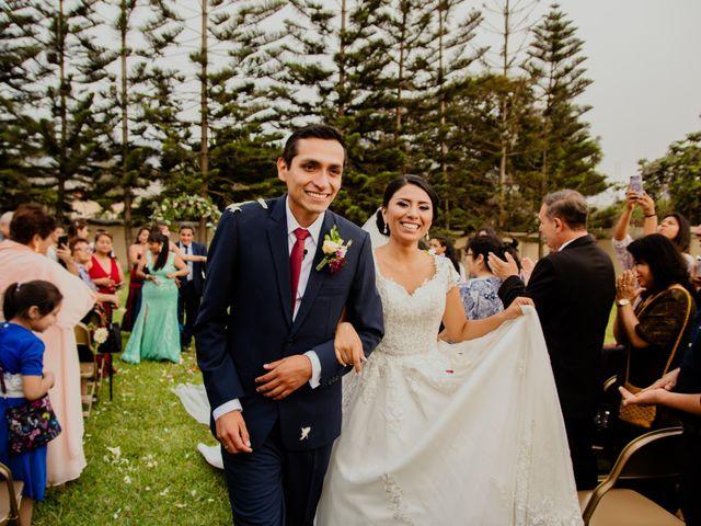 El matrimonio de Angie y Luis