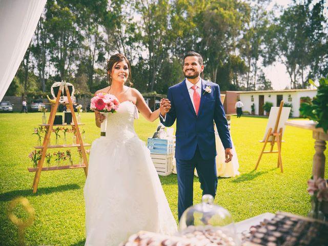El matrimonio de Flor y Juan Pablo