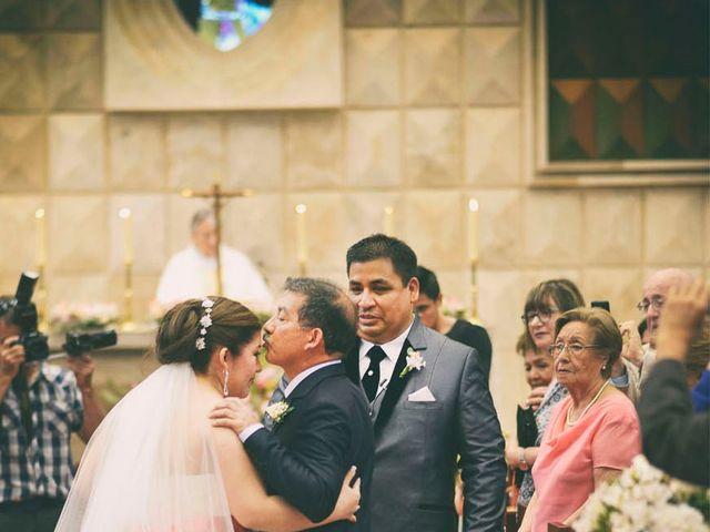 El matrimonio de Cesar y Paola en San Borja, Lima 13