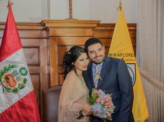 El matrimonio de Milagros y Claudio