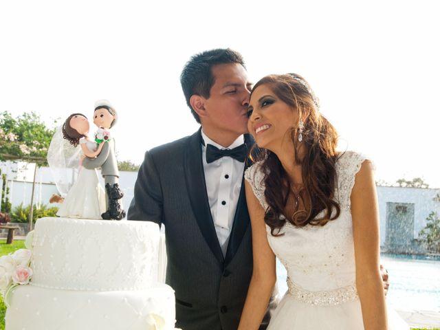El matrimonio de Milagros y Miguel
