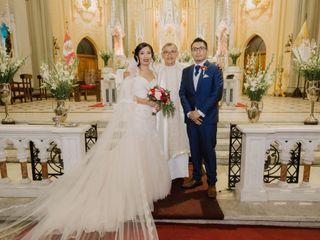 El matrimonio de Karla y Dennis