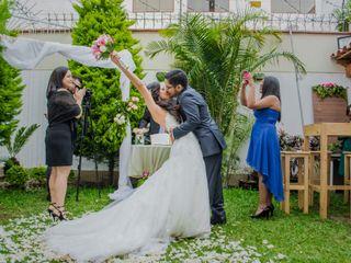 El matrimonio de Claudia y Iván