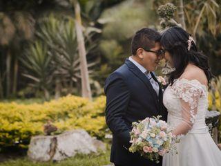 El matrimonio de Evelyn y Wildman 1