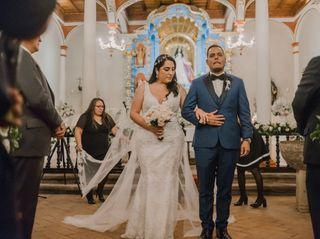 El matrimonio de Sandra y Bruno