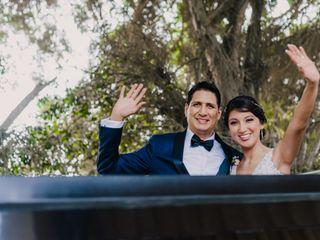 El matrimonio de Patricia y Augusto 1