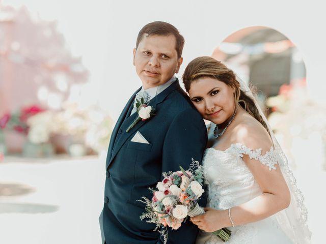 El matrimonio de Marisella y César