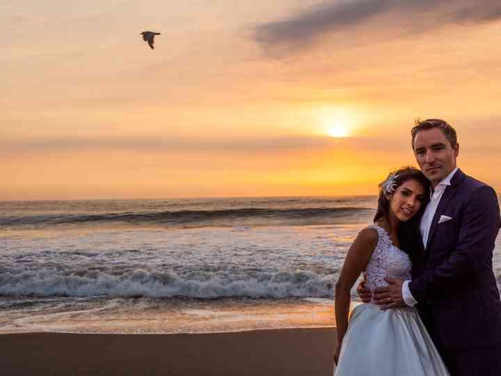 El matrimonio de Natalia y Vincent