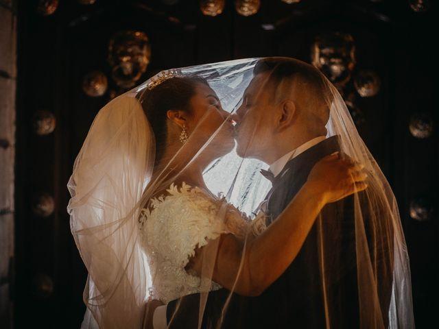 El matrimonio de Milagros y Moises