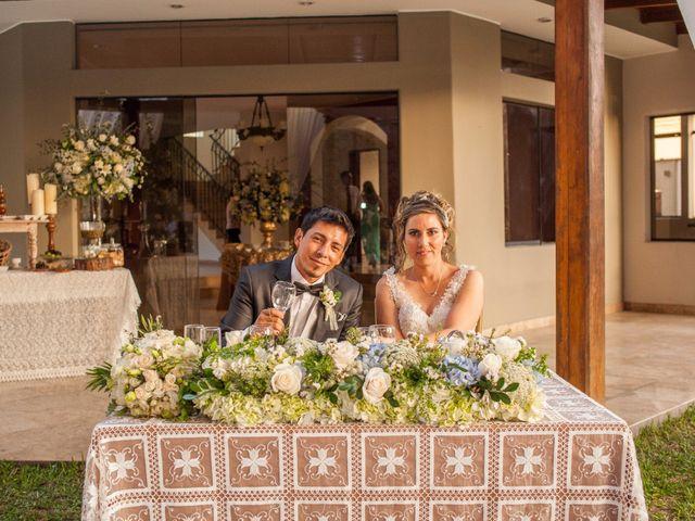 El matrimonio de Jakeline y Steve