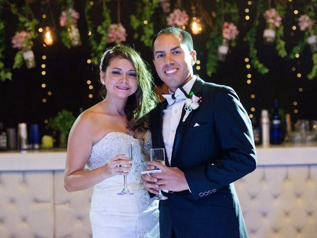 El matrimonio de Nathaly y Mario