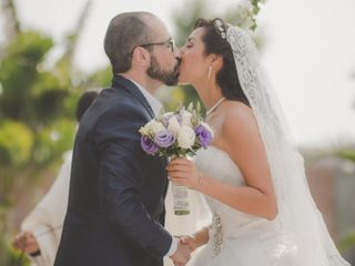 El matrimonio de Fiorella y Eduardo