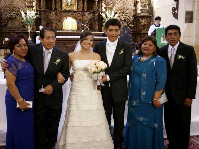 El matrimonio de Elard y Eliana en San Isidro, Lima 7