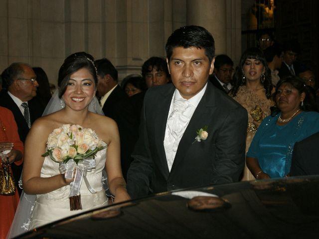 El matrimonio de Eliana y Elard