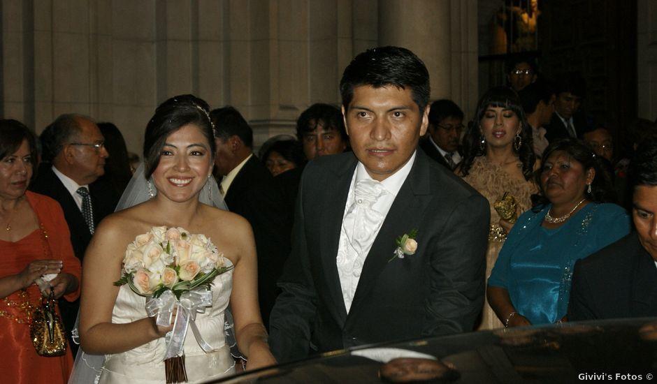 El matrimonio de Elard y Eliana en San Isidro, Lima